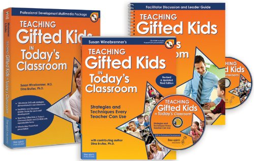 Teaching Gifted Kids in Todays Classroom Professional Development Multimedia Package