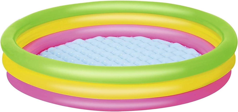 Cute Inflatables Piscina Infantil Hinchable Arcoíris Premium ...