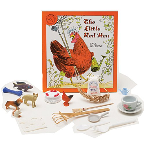 Primary Concepts, The Little Red Hen 3-D Storybook Children's Book]()