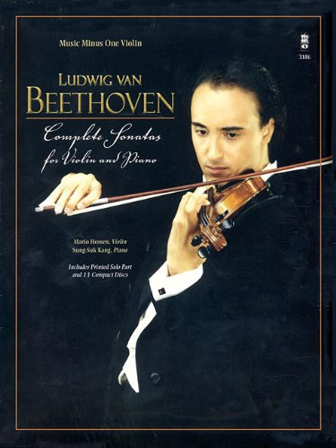 Beethoven - Complete Sonatas for Violin & Piano by Music Minus One