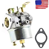 New Adjustable Carburetor for Tecumseh HMSK80 HMSK90 LH318SA LH358SA Snowblower - Long-term use And stable