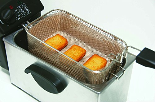 Cooks Innovations - Deep Fryer FILTER - Reusable - Non-Stick - Use your oil 3 x longer (Fryer Oil Filter)