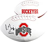 Archie Griffin Ohio State Buckeyes Autographed White Panel Football with HT 74-75 Inscription - Fanatics Authentic Certified
