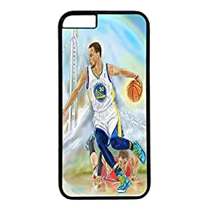 iPhone 6 plus case,fashion durable Black side design for iPhone 6 plus,PC material cover ,Designed Specially Pattern with A Warriors Run ,Steph Curry. by runtopwell