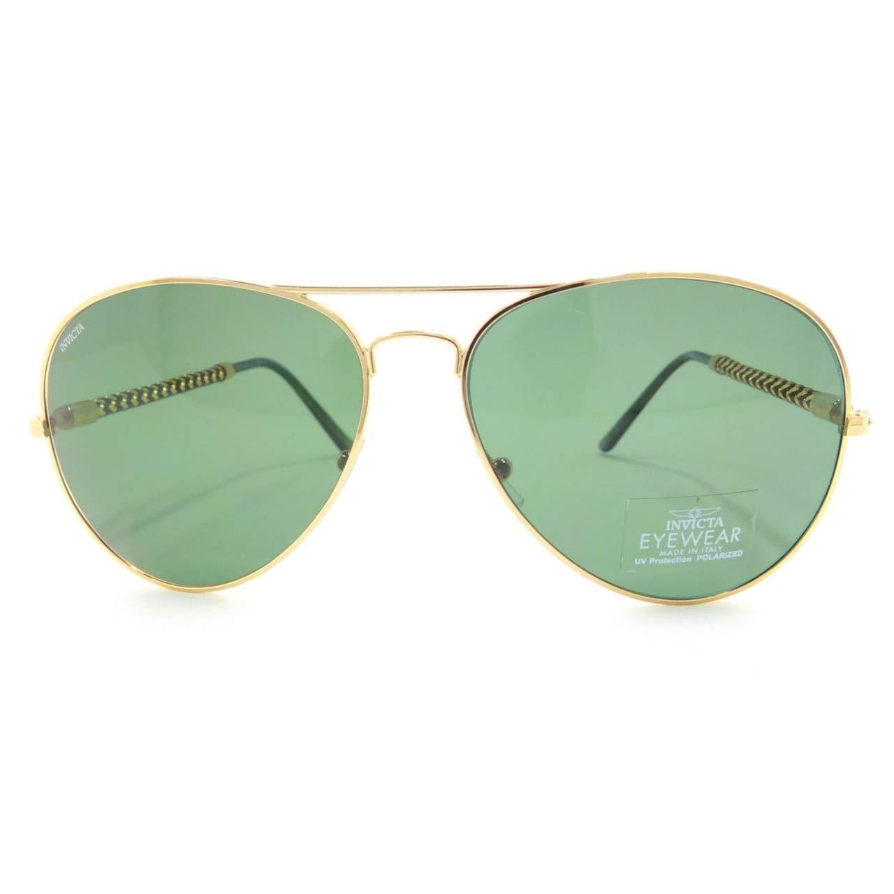 Invicta Gafas de Sol Aviator Vfr 58 Verde: Amazon.es: Ropa y ...