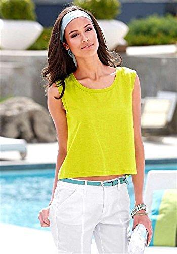 Chillytime - Camiseta sin mangas - para mujer Verde