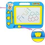 Preschool Toys,Children Kid Magnetic Writing Painting Drawing Graffiti Board➪Laimeng (Blue)