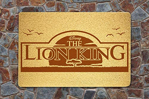 shopARMUS Lion King Door Mat Sweet Home Supplies Décor Accessories Unique Gift Handmade Present Idea Original Design Commercial Outside Inside Personalized Quotes Exterior