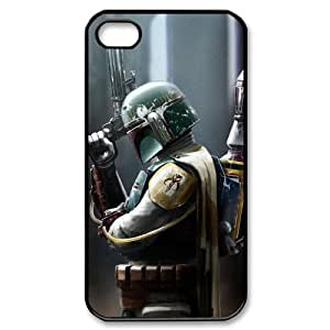 I-Cu-Le Customized Print Star Wars Warrior Pattern Back Case for iPhone 4/4S