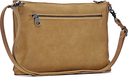 bags clutches MIYA camel colour crossover cm x BLOOM x bags x 33 bags shoulder x handbags W underarm D ladies evening Camel bags 2 H 22 YAcrYFS