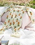 Leveret Kids Organic Cotton Pineapple Baby Boys