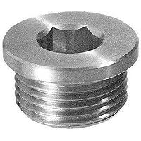 1//2 BSP TSCM//F3G Hydraulic magnetic drain plug with milled head