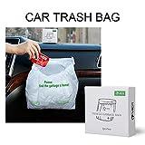 YIER Waterproof Car Trash Bin Leakproof Auto Trash Bag for Family...