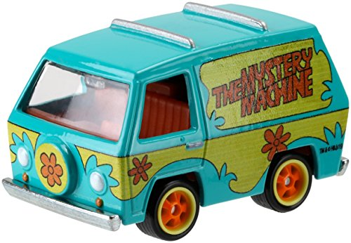 Hot Wheels, Retro Entertainment, Scooby Doo! The Mystery Machine Die-Cast Vehicle ()