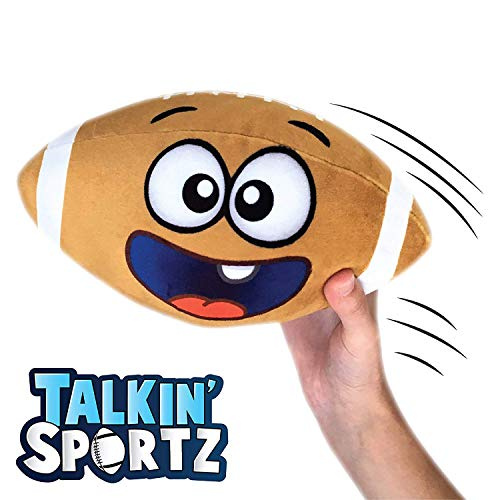 Move2Play Talkin' Sports, Hilariously Interactive Toy Football with Music & Sound FX for Toddlers, Kids, 2 3 4 5 6 Year Old Boys and Girls