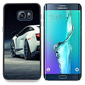 - Sexy Lambo Car Galardo - - Cubierta del caso de impacto con el patr??n Art Designs FOR Samsung Galaxy S6 Edge Plus Queen Pattern