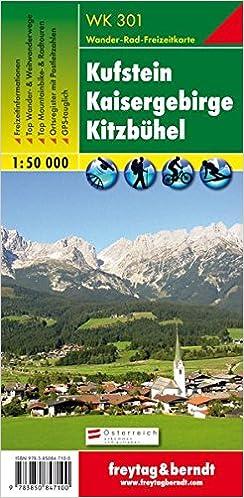 Meilleurs livres à télécharger sur ipad Carte de randonnée : Kufstein, Kaisergebirge, Kitzbühel PDF CHM ePub 3850847101