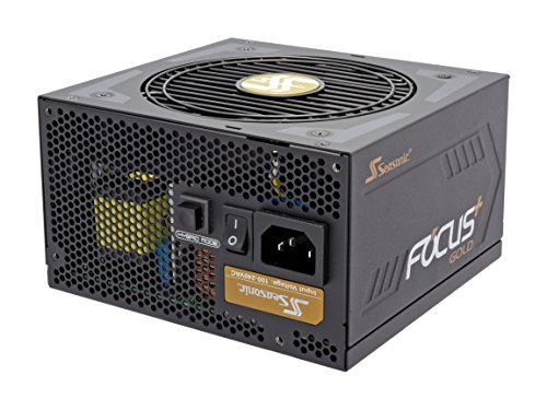 Seasonic FOCUS Plus Series SSR-850FX 850W 80+ Gold ATX12V & EPS12V Full Modular 120mm FDB Fan Compact 140 mm Size Power Supply by Seasonic (Image #1)