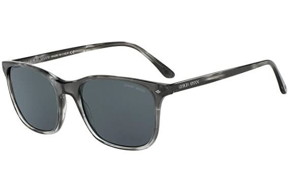 4f7157dc3d87 Image Unavailable. Image not available for. Color  Giorgio Armani Men s  AR8089-5565R5-56 Grey Rectangle Sunglasses