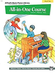 All-in-One Piano Course Book 2 --- Piano - Palmer, Manus & Lethco --- Alfred Publishing