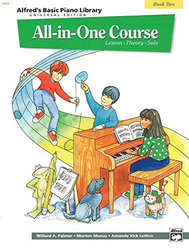 Alfred's Basic Piano Library All-in-One Course, Book 2 (One For One And One For All)