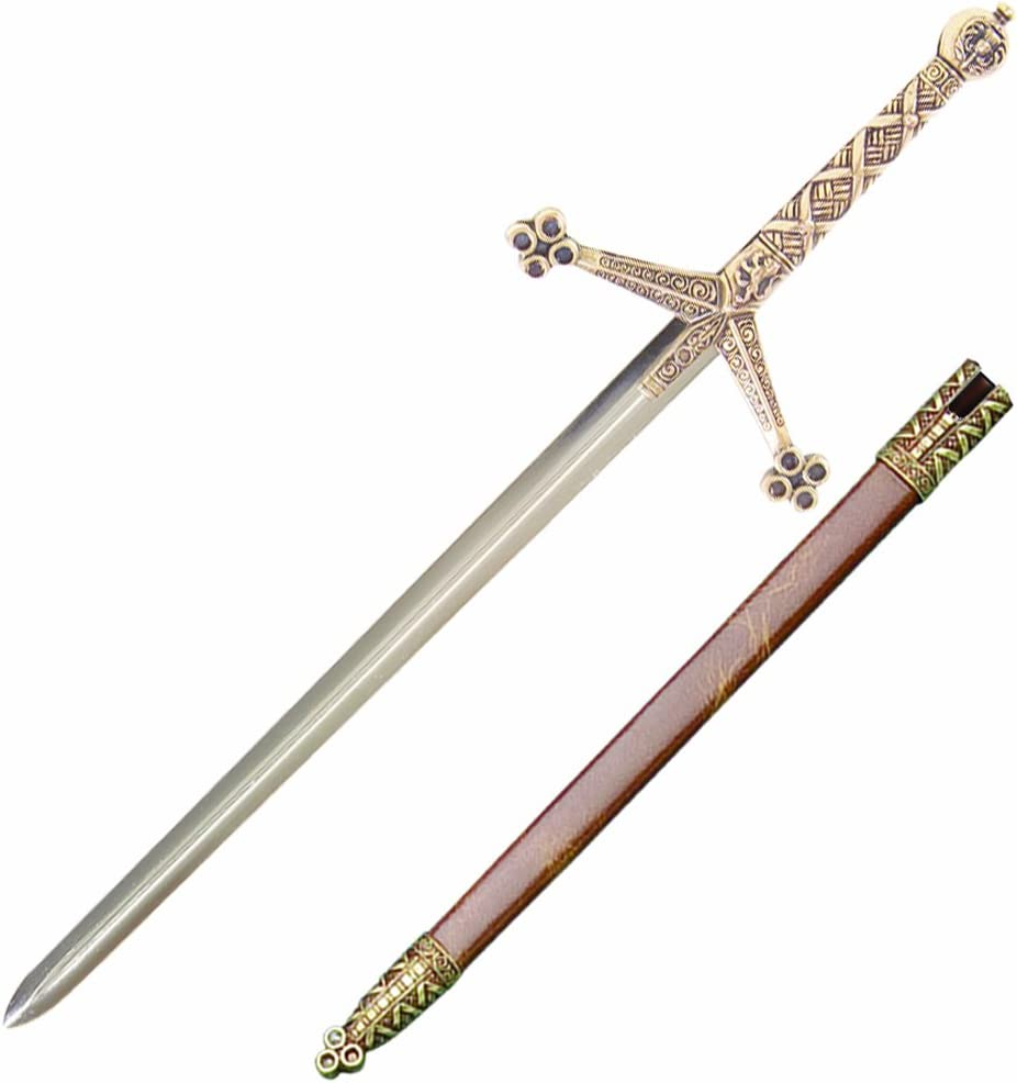 Decorative 38 cm Miniature Sword Letter Opener With Scabbard