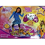 Easy-To-Read Lights On The Console - Winx Groove and Glow Dance Mat