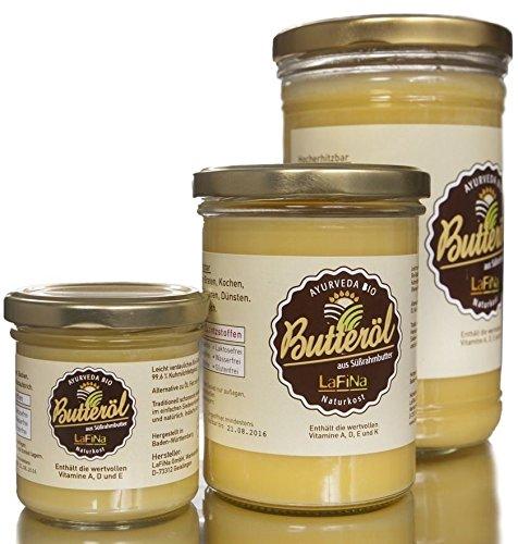 100% Bio Ayurveda Ghee | Butterschmalz | Butteröl. 330g