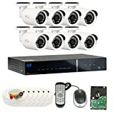 GW Security 8 Channel HDMI CCTV 1.3MP Security Surveillance DVR System with 8 x 1300TVL 720p High Resolution Weatherproof Security Cameras and Pre-Installed 2TB Hard Drive Review