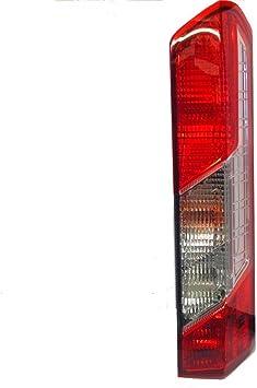 FORD TRANSIT MK8 CUSTOM TIPPER 2014 ON REAR LIGHT LAMP LENS LEFT HAND SIDE