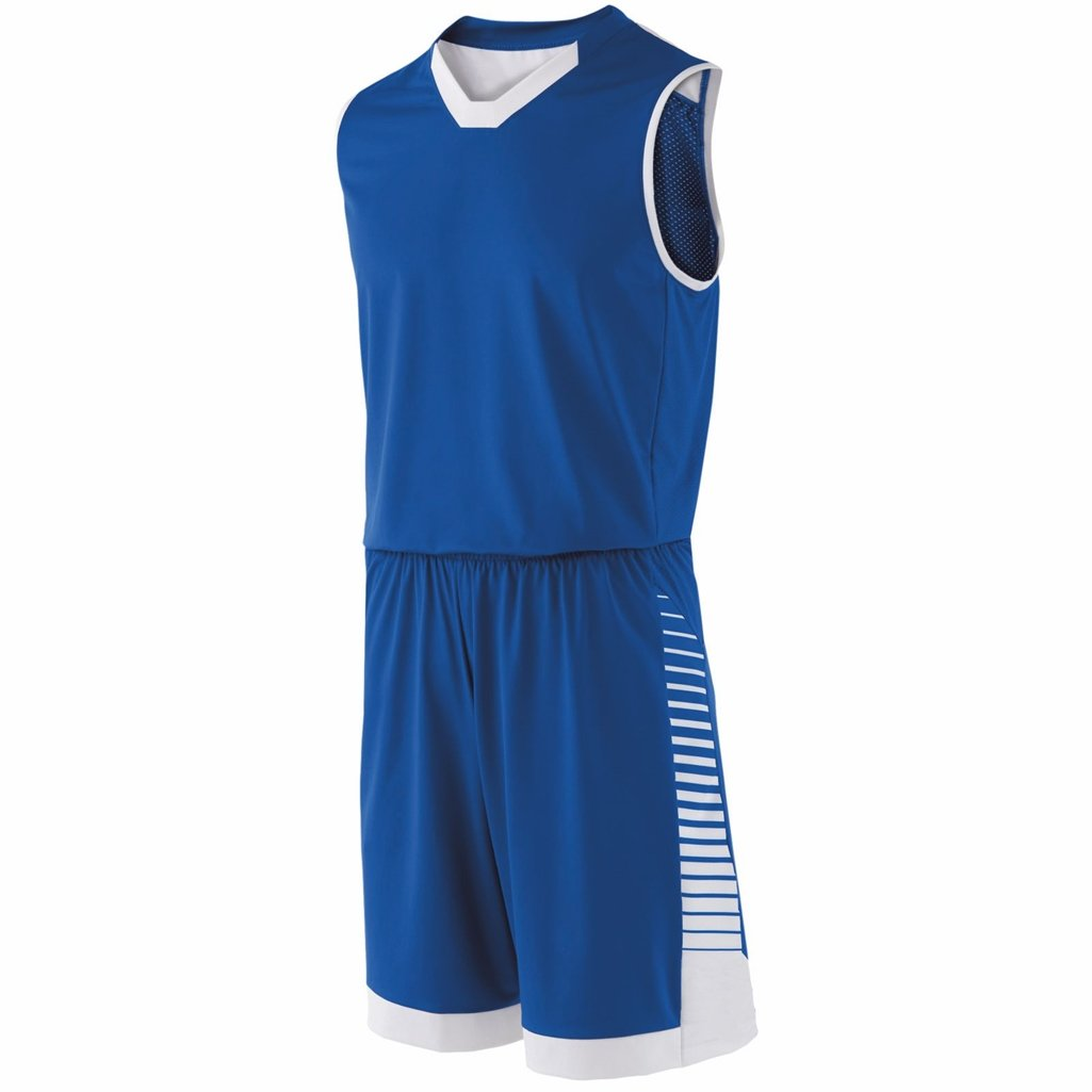 Holloway Youth Arc Short (Small, Royal/White) by Holloway