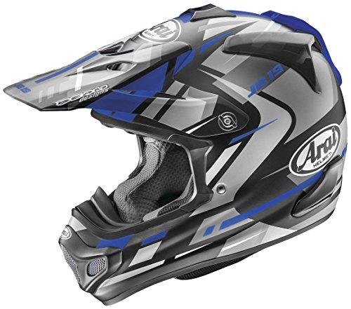 Arai Helmets VX-Pro4 Bogle Helmet Blue Frost (Blue, Large)