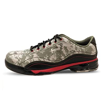 Hammer Mens Force Performance Bowling Shoes Camo/Red- Right Hand 7 M US: Sports & Outdoors