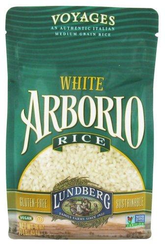 Lundberg White Arborio Rice, 16 Ounce (Pack of 6)