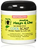 Jamaican Mango & Lime No More Itch Cool Scalp Braid Twist & Lock Gel, 6 Ounce