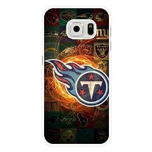 Samsung Galaxy S6 Case, Customized NFL Tennessee Titans Logo White Hard Shell Samsung Galaxy S6 Case, Tennessee Titans Logo Galaxy S6 Case(Not Fit for Galaxy S6 Edge) Kimberly Kurzendoerfer