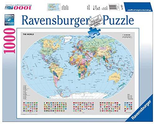 Politische Weltkarte Puzzle 1000 Teile 4049817655832 Amazon Com