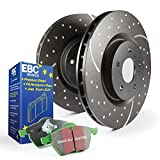 EBC S3KF1201 Stage-3 Truck and SUV Brake Kit