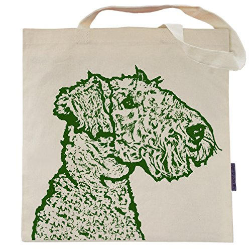 Asta the Airedale Terrier Eco Friendly Tote Bag