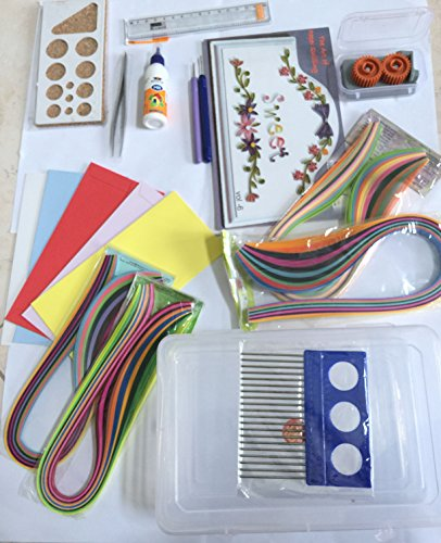 Parag quilling beginner craft buy online in ksa office for Quilling kitchen set