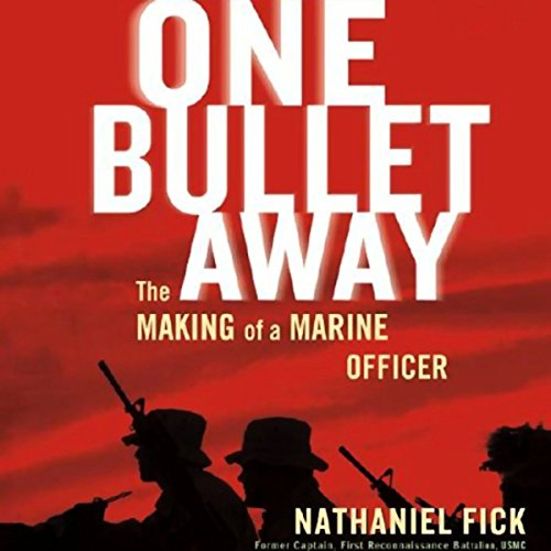 One Bullet Away: The Making of Marine Officer Audiobook [Free Download by Trial] thumbnail
