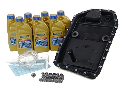 BLAU F2A1305-C BMW 325i ATF Automatic Transmission Fluid Filter Kit - E90 - 2006 w/ 6 Speed Automatic GA6HP19Z by Blau