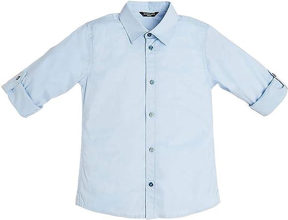 Guess L01H12WBBH0 Camiseta niño Celeste 16A: Amazon.es: Ropa y accesorios