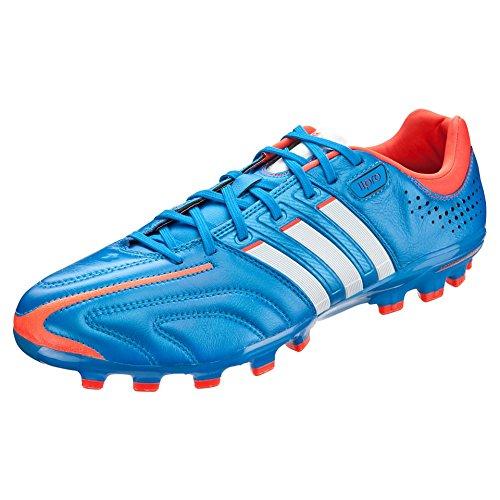adidas adipure 11Pro TRX FG US Men's 12 M (BrightBlue/RunningWhite/Infrared) - Adipure Trx Fg