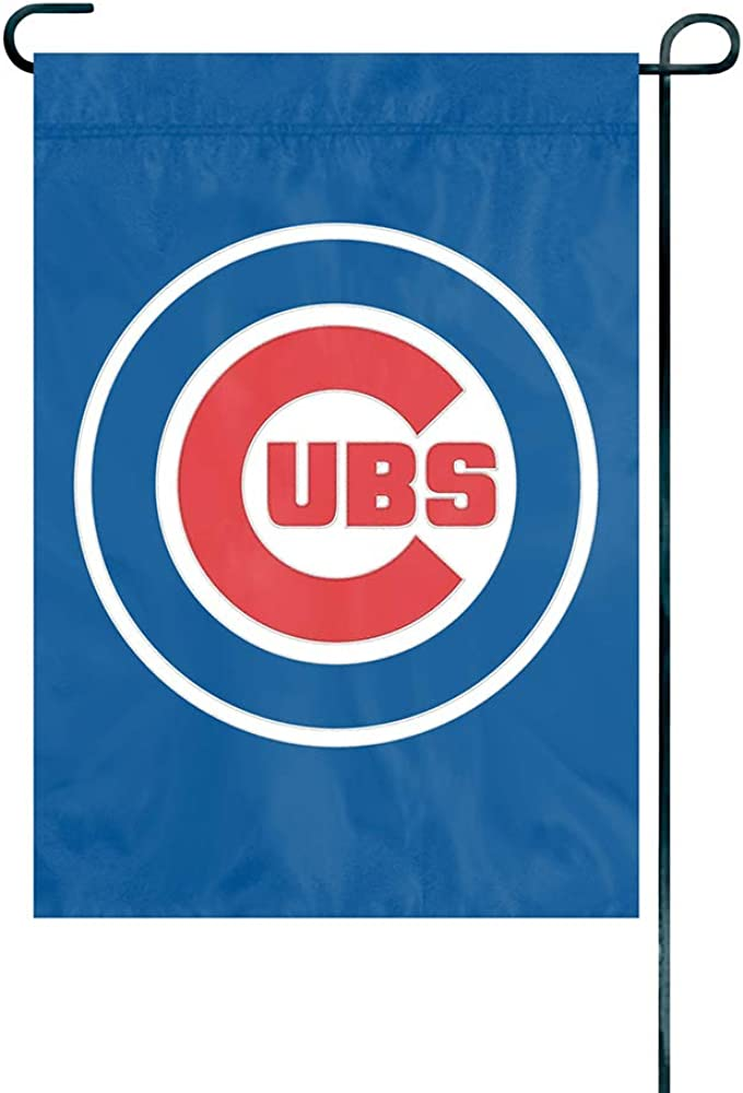 The Party Animal Officially Licensed MLB GMCUB Chicago Cubs Premium Garden Flag