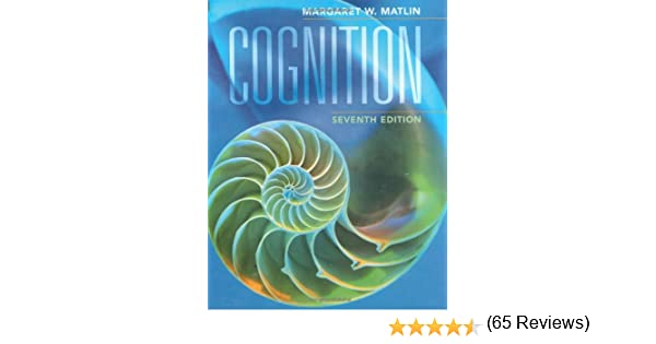 Amazon cognition 9780470087640 margaret w matlin books fandeluxe Image collections