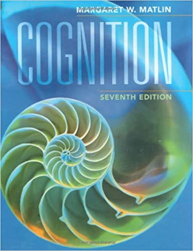Amazon cognition 9780470087640 margaret w matlin books cognition 7th edition fandeluxe Image collections