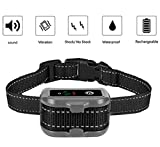 #6: TBI Pro [Newest 2019] Rechargeable Bark Collar - Upgraded Smart Detection Module w/Triple Stop Anti Barking Modes: Beep/Vibration/Shock for Small, Medium, Large Dogs All Breeds - IPx7 Waterproof