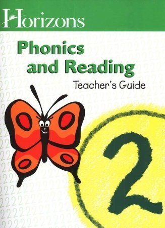 Alpha Omega Publications JRT020 Horizons Phonics and Reading 2 Teachers Guide