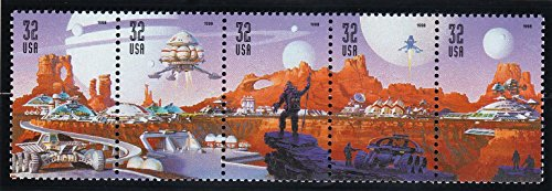 (32c Space Discovery Strip of 5 Stamps - Mint and Never Hinged - Scott 3238 - 3242 - By The USPS)